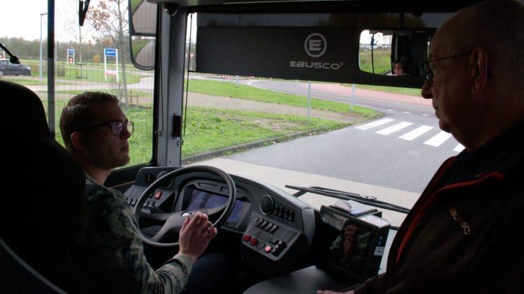 Bus drivers training Ebusco