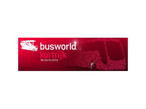 Ebusco was aanwezig bij Busworld in Kortrijk in 2013