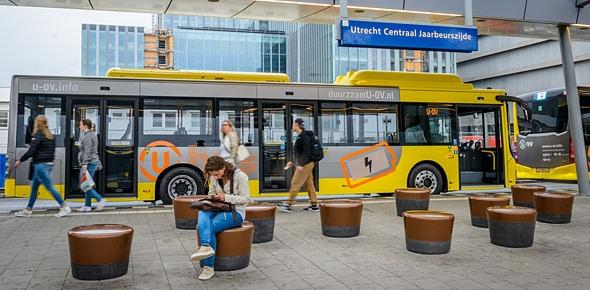 Utrecht citybus Ebusco