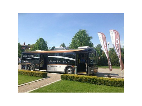 Ebusco 1.0 bij ECOMM Zweden mei 2013