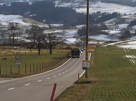 Ebusco 2.0 test in Bern (Switzerland)
