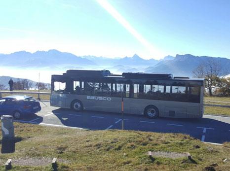 Ebusco 2.1 test in Austria