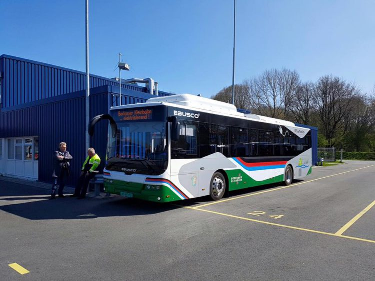 Ebusco Electric City bus Germany Borkum