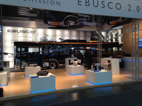 Ebusco presents her Ebusco 2.0 at IAA Hannover in 2014
