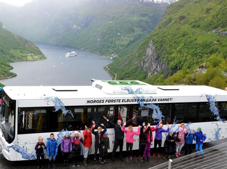 The EBUSCO 2.0 takes on the Norwegian mountains