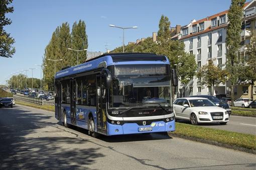 Ebusco en Munich