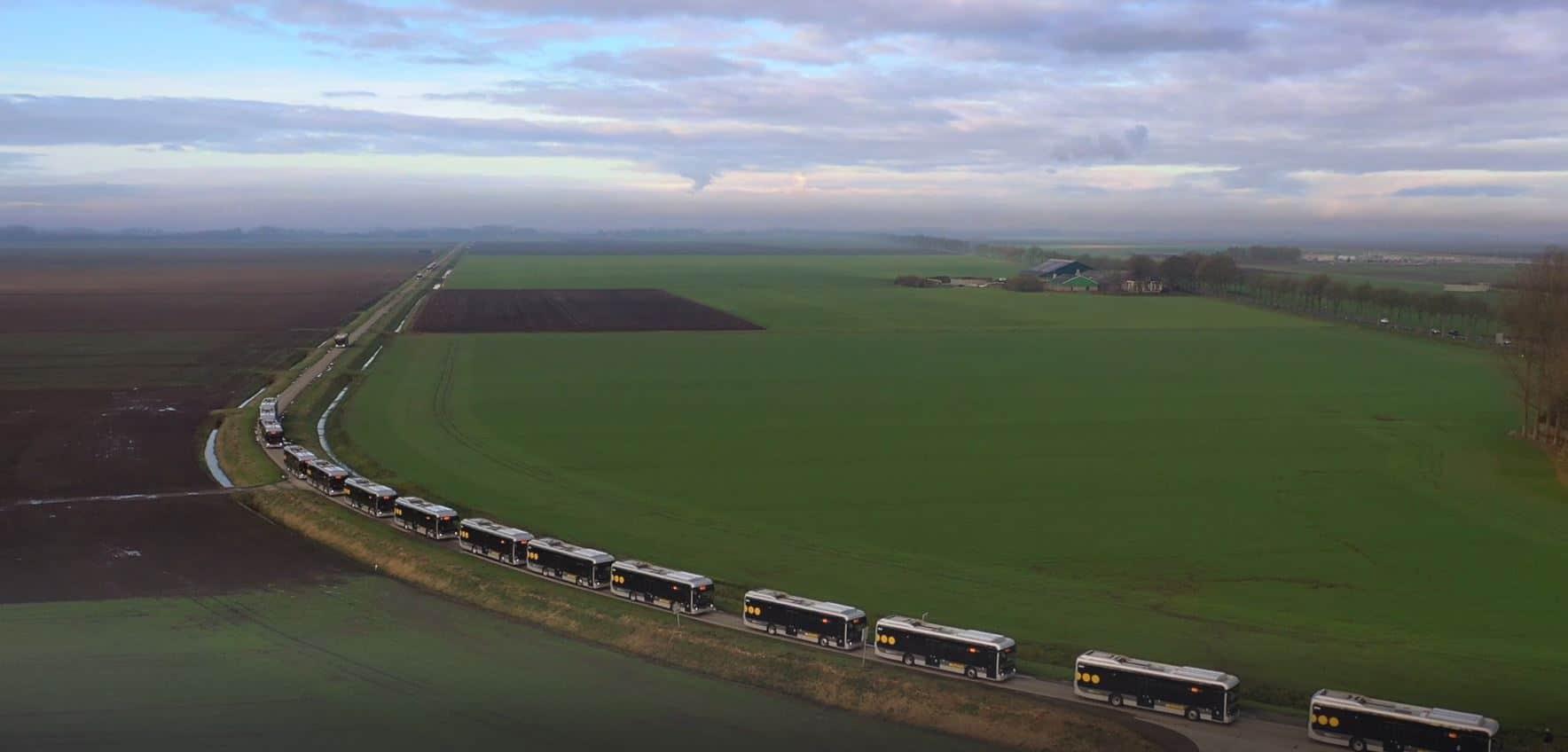 Ebusco 2.2 arriving in Groningen