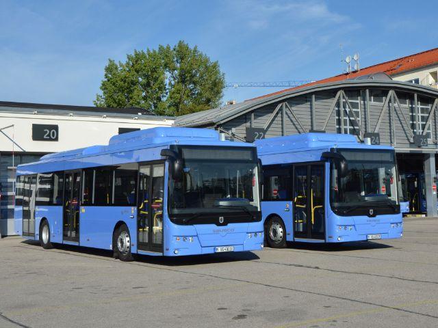Twee elektrische bussen voor MVG in München