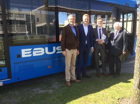 Vilnius electris buses
