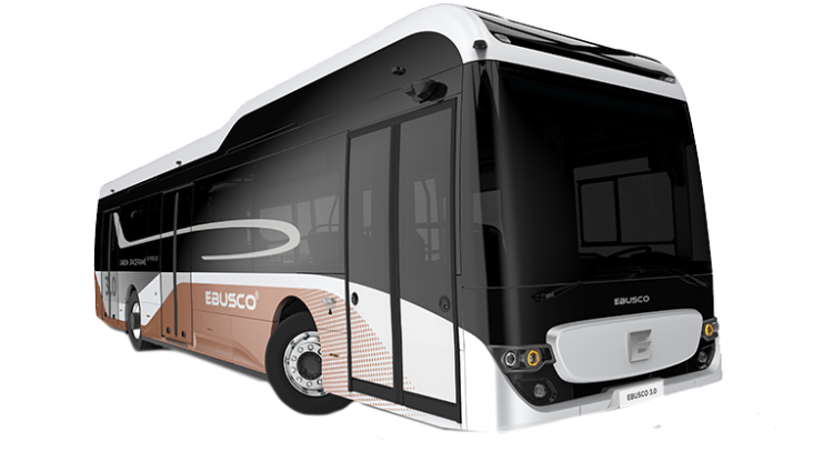 Ebusco 3.0 composite electric bus